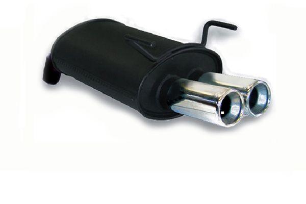 Asso Endschalldämpfer 2x 76mm rund