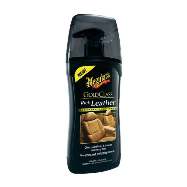 Meguiars Gold Class Rich Leather Cleaner/Conditioner
